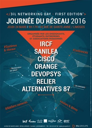 1ère Journée du Réseau du Groupe 3iL jeudi 24 mars 2016
