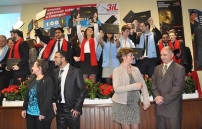 3iL Group - remise des diplômes 2015