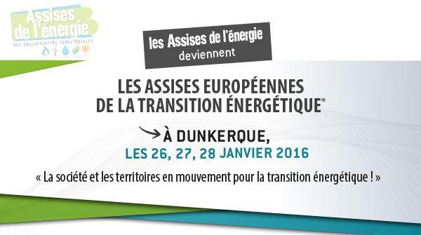 Assises Européennes de la Transition Énergétique 2016