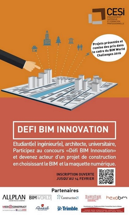 Défi BIM Innovation 2016