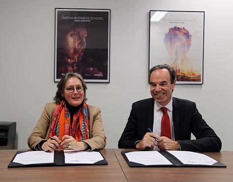 SKEMA Business School et l'école d'ingénieurs du CESI annoncent la signature d'un accord de double diplôme
