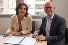 ebs Paris et l'ECE Paris signent une convention de double-diplôme