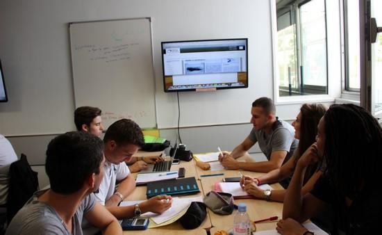 L'ei.CESI de Paris-Nanterre organise des ateliers d'immersion  avec les élèves en cycle préparatoire  du lundi 29 février au vendredi 04 mars 2016