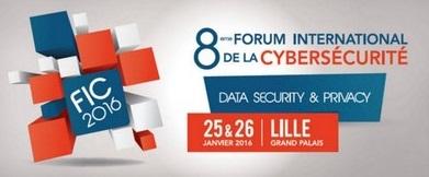 FIC 2016 -  Forum International de la Cybersécurité