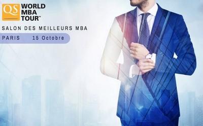 Salon QS World MBA Tour à Paris le Samedi 15 Octobre