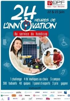 EPF '24h de l'innovation au service du handicap'