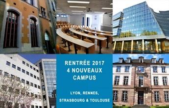 EPITA s'implante au cœur des régions. Ouvertures à Lyon, Rennes, Strasbourg et Toulouse.