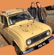 Les 4L de l'esaip - Pik'4L : l'équipage de Gabriel et Théo