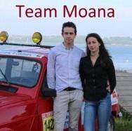 Les 4L de l'esaip - Team Moana : l'équipage de Erwan et sa petite amie Sabrina