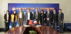 ESILV signe un partenariat avec 3 lycées d'excellence dans le Nord Est de la Chine