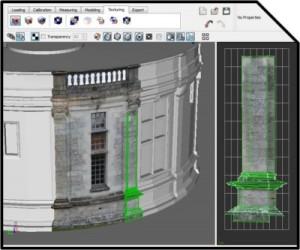 Photomodélisation du Château de Chambord : Application des textures