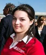 Cécile Rigaudy, élève en 3ème année à l'EPF