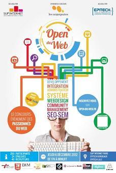 OPEN DU WEB - Inscriptions