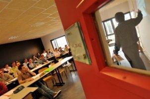 Salle de cours de l'ESITPA