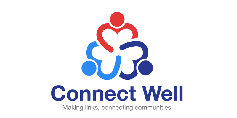 Connect Well logo - Kingston Council's social prescribing service