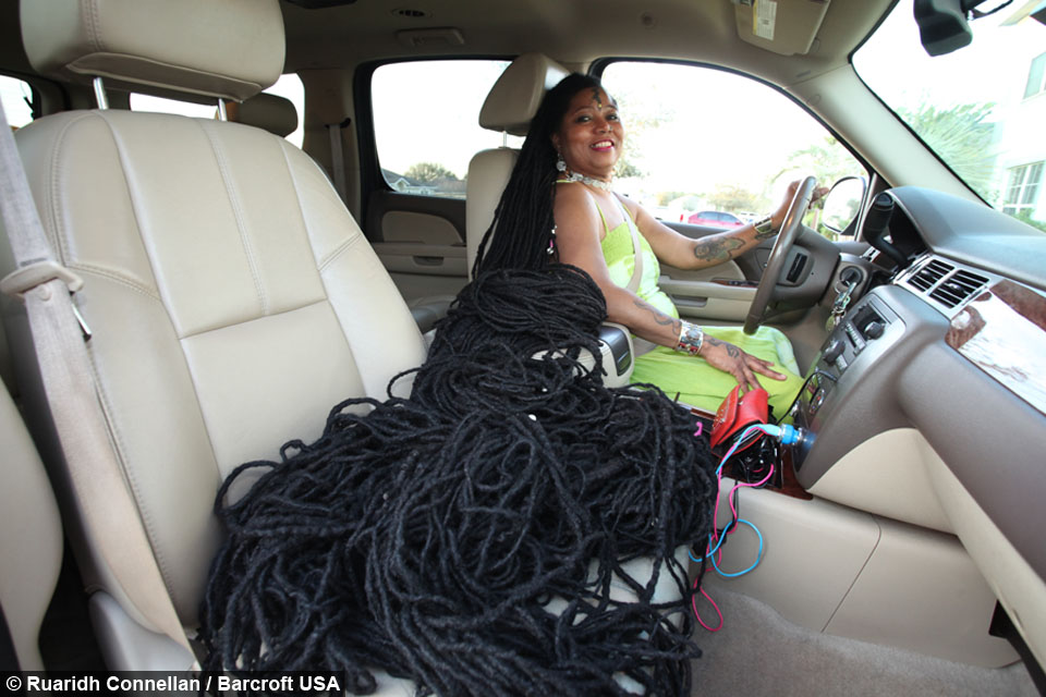 Newly Dreads Woman With Worlds Longest Dreadlocks Marries Rasta Hairstylist