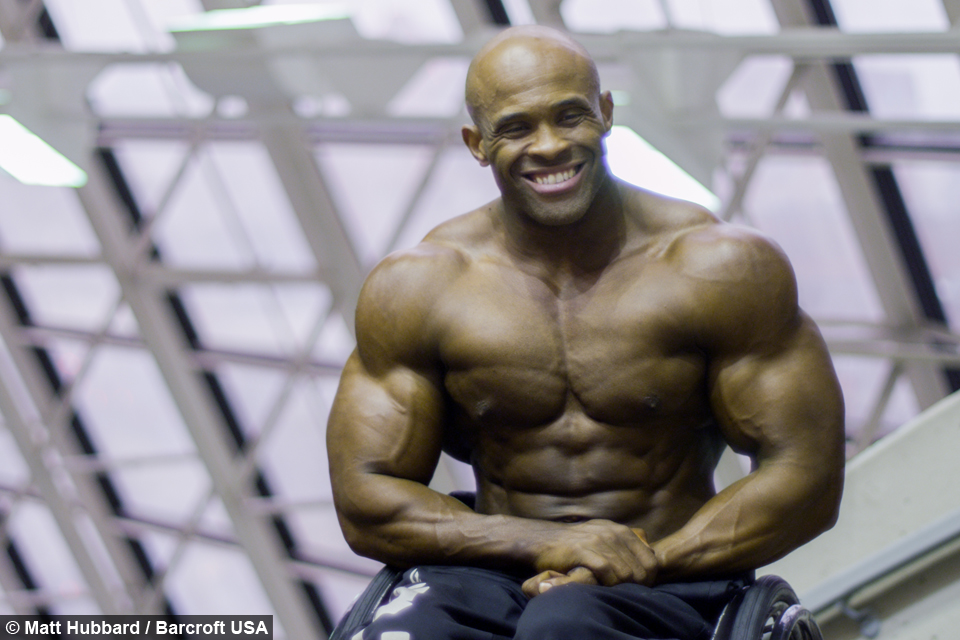 Wheelchair Bodybuilders First Performance At Arnold Classic