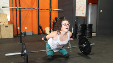 Inspirational Limbless CrossFitter Has No Limits