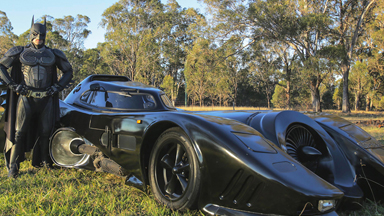 Real life Batmobile: Man Spends Two Years Building Iconic Car