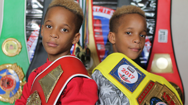 9-Year-Old Twins Are Boxing Champions