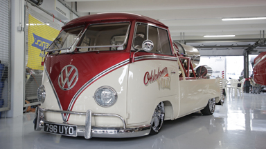 The Jet-Powered VW Camper Van