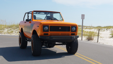 1979 Harvester Scout Given New High-Tech Life