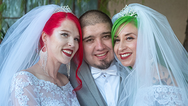 I Now Pronounce You Husband & Wife… & Wife