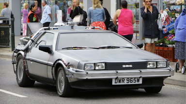 GREAT SCOTT! Back To The Future Superfan Owns Real-Life DeLorean 'TIME MACHINE'