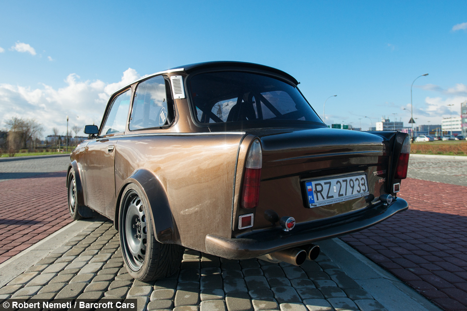 Secret Sports Car Trabant Pimped Up With Audi Tt Parts