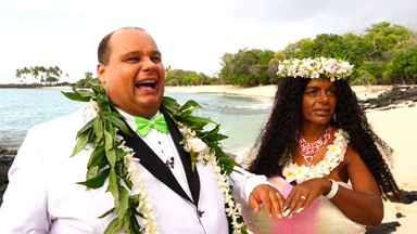 Tanning Addict Martina Big Gets Married