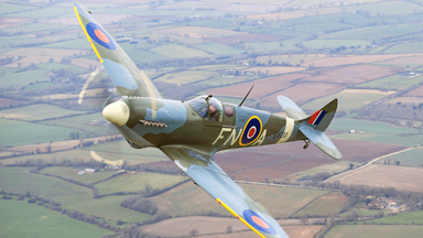 Spitfire 80th Anniversary: Iconic Fighter Plane Takes to the Skies Once Again