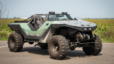 Halo Fan Builds A Real Life Warthog