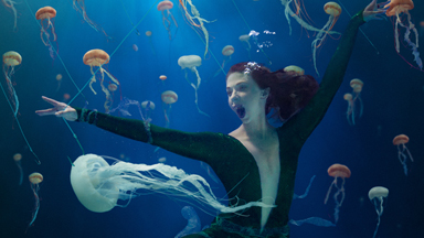 Dancer makes waves with her underwater campaigns to help save the world's ocean