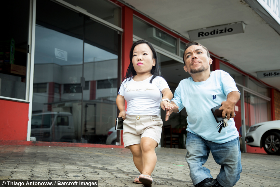 World's Shortest Couple