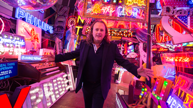 God's Own Junkyard Is London's Neon 'Wonderland'