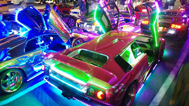 Lighting Up Tokyo: Japan's Custom Supercar Crew