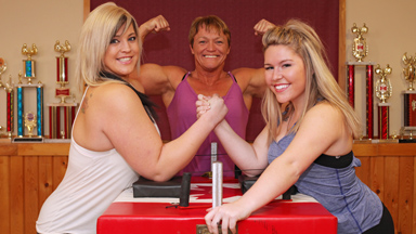 Mothers In Arms: Meet Canada's Strongest Arm-Wrestling Family