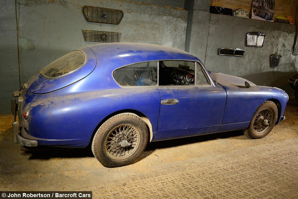 All Original Vintage Rochester Police Car Very Rare: Barn Find: Rare 1955 Aston Martin Found In Storage After