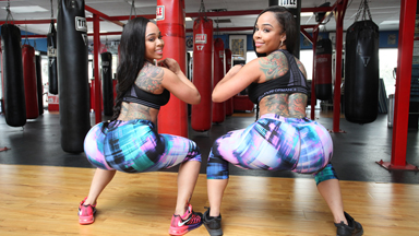 Twin Cheeks: Curvy Sisters Get Matching Booties By Leading Identical Lives