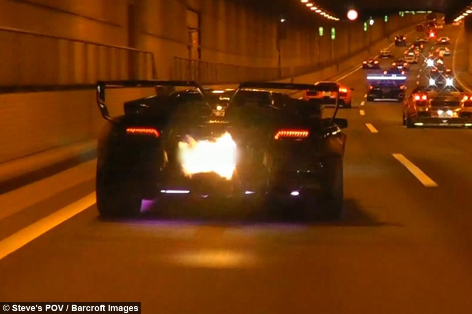 Japan S 10million Lamborghini Parade