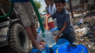 Demand For Water In New Delhi Is Dramatically Increasing