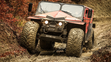 Evolution of the ATV: Extreme rescue vehicle aims to revolutionise disaster response