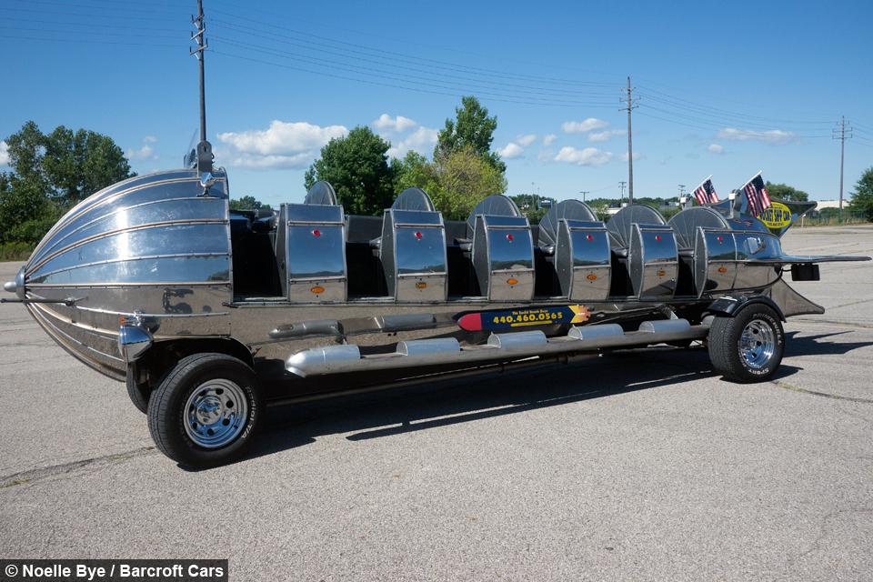 Giant Rocket Car Man Rebuilds Favourite Fairground Ride As