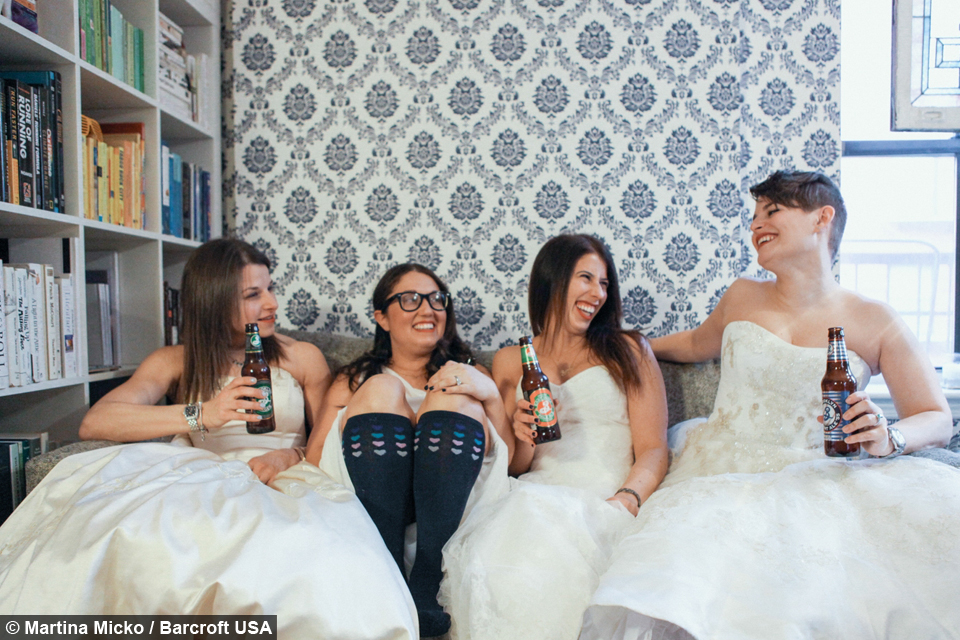 New York Brides Bring Their Wedding Dresses Back to Life