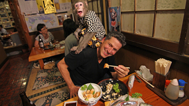 Monkey Business! | WORLD'S WEIRDEST RESTAURANTS