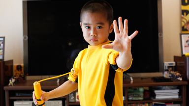 Meet The Mini Bruce Lee