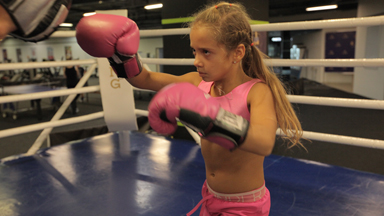 The Knockout Boxer Who's Only 9