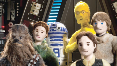 Use The Felt: Iconic Star Wars Scenes Recreated In Wool
