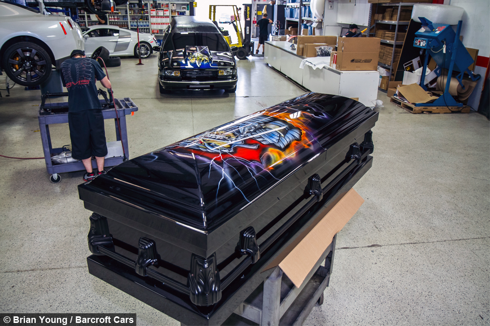 Overtaken By The Undertaker The World S Fastest Hearse