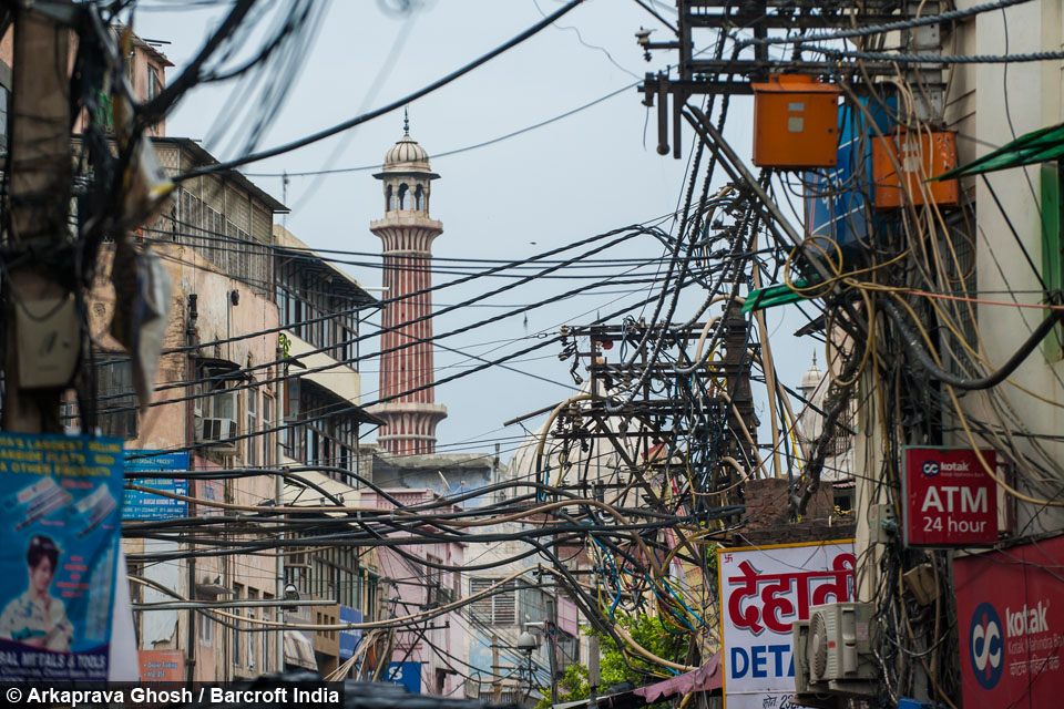 Peachy Wired The Chaotic Electricity Cables Of Indias Old Delhi Wiring Digital Resources Remcakbiperorg